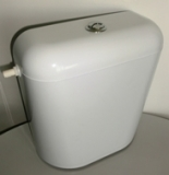 Тоалетно казанче без изолация с маркуч БЯЛО