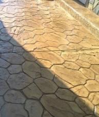 Декоративен щампован бетон