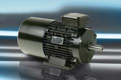 Electric motors with brake