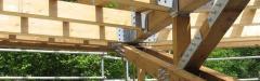 Пасивни къщи, с дървени конструкции