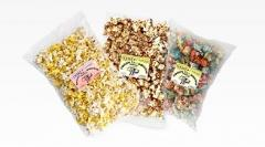Popcorn packed