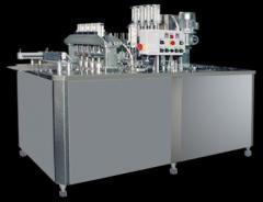 Линейна автоматична машина за дозиране и