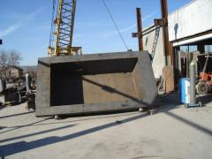 The equipment of metallurgical shops