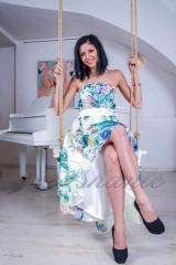 Бална рокля Ашанте - модел 1