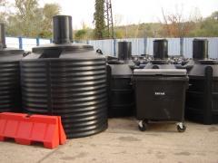 Полиетиленови вертикални резервоари №2