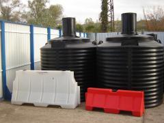 Полиетиленови вертикални резервоари №3