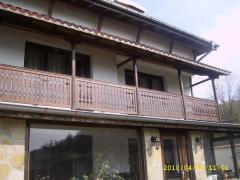 Дървени декоративни парапети