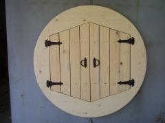 Дървен капак за кладенец