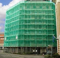 Мрежа строителна заградителна