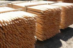 Колчета - дървени за лозя.