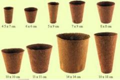 Биодеградиращи кофички за разсад