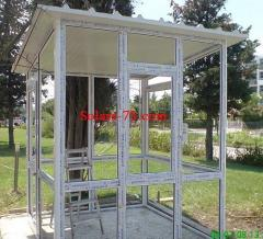 Constructions all-glass