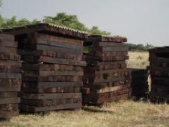 Дървени траверси