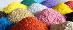 Цветни кварцови пясъци