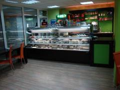 Shop windows for confectionery shops