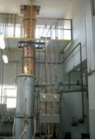 Evaporating machine for distillation industry