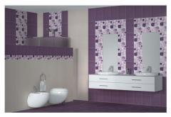 Ceramic tile for bathroom