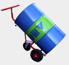 Ръчна транспортна количка за варели