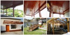 Wood structures, heavy