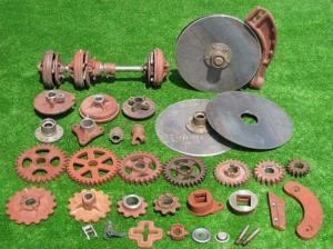 Резервни части за машини за селското стопанство