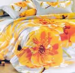 Спален комплект от сатен 100% памук