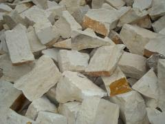 Blocks of limestone
