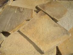 Grey sandstone