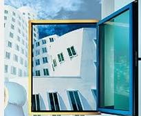 Fastening for metal-plastic windows