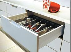 Комплектуващи механизми за чекмеджета