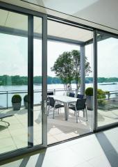 Плъзгащи прозорци и врати от алуминий