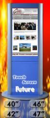 Kiosks sensory information