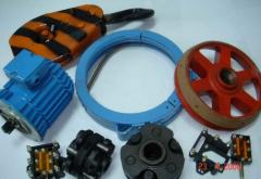 Spare parts for electric hoists