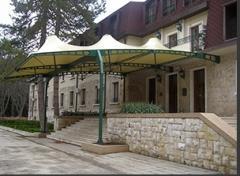 Tarpaulin canopies