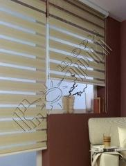 Roller blinds with electric drive