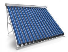 Вакуумно-тръбен слънчев колектор 16 тръби