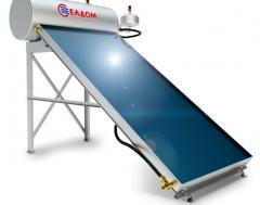 Термосифонна система за хоризонтален покрив, бойлер 150 л, колектор 2,5 кв.м.