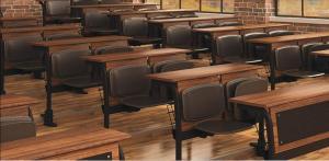 Маси и столове за учебни аудитории, учебни банки