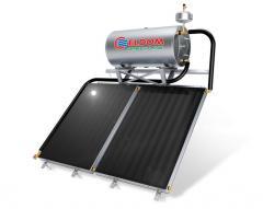 Термосифонна система за наклонен покрив бойлер 300 л колектори 2 х 2 кв.м.
