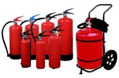 Прахови пожарогасители