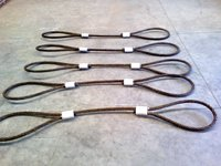 Steel double lay rope