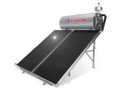 Термосифонна система за хоризонтален покрив бойлер 300 л колектор 2 x 2 кв.м.