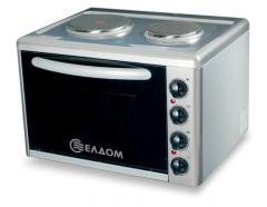 Готварска печка с чугунени нагревателни плочи 203VF