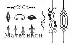 Декоративни елементи от ковано желязо