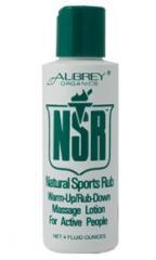 Релаксиращ масажен лосион NSR – Natural Sports Rub