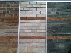 Stone artificial decorative facing