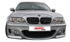 Предна тунинг броня за BMW E46 / БМВ Е46