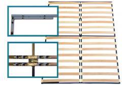 Двойна рамка с подсилена метална конструкция