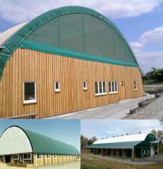 Roofing for industrial buildings