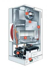 Gas wall boilers
