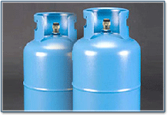 Доставка на пропан за бита и промишлеността за Разград и областта в бутилки 10, 20, 30 и 40 кг